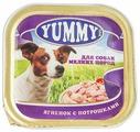Корм для собак Yummy Ягненок с потрошками для собак консервы