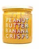 Grizzly Nuts Арахисовая паста с банановыми чипсами Banana Crisps