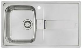Врезная кухонная мойка TEKA Stena 45-B 1B 1D 86х50см нержавеющая сталь