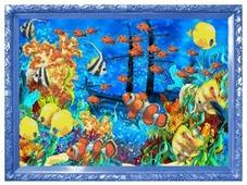 Color Kit Набор для вышивания бисером Подводный мир