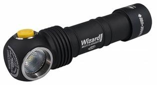Ручной фонарь ArmyTek Wizard Pro v3 XHP50 Magnet USB + 18650 Li-Ion (белый свет)