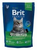 Корм для стерилизованных кошек Brit Premium с курицей