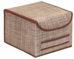 CASY HOME Коробка для хранения с крышкой ВО-032 20х25х27см