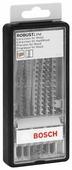 Набор пилок для лобзика BOSCH Robust Line Progressor 2607010572 6 шт.