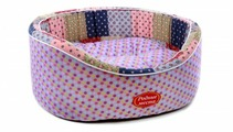 Лежак для кошек, для собак Родные места Премиум №1 Деревенское лето 43х38х15 см