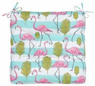Подушка на стул Guten Morgen Фламинго, 40 x 40 см
