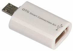 Разъем SmartBuy USB - microUSB (SBR-OTG)