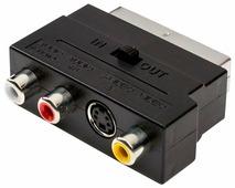 Переходник Atcom SCART - S-Video/3xRCA (АТ1010)