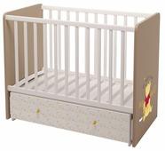 """Кроватка Polini Disney baby 750 """"Медвежонок Винни и его друзья"""""""