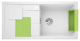 Врезная кухонная мойка Blanco Sity XL 6 S 100х50см искусственный гранит