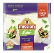 Mission Deli Лепешки пшеничные бездрожжевые 250 г