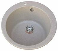 Врезная кухонная мойка AQUASANITA Clarus SR100 50.5х50.5см искусственный гранит