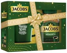 Кофе растворимый Jacobs Monarch, подарочный набор с кружкой