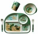 Комплект посуды Nobvan Дино парк