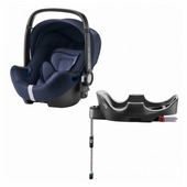 Автокресло группа 0+ (до 13 кг) BRITAX ROMER Baby-Safe2 i-Size + Flex Base
