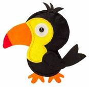 Feltrica Набор для изготовления мягкая игрушка Птичка Тукан (4627151964478)