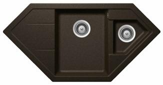 Врезная кухонная мойка Schock Signus C-150 97.9х50см искусственный гранит