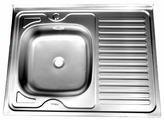 Накладная кухонная мойка Fabia 80x60 04/160
