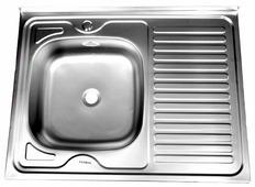 Накладная кухонная мойка Fabia 80x60 04/160 80х60см нержавеющая сталь