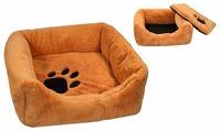 Лежак для кошек, для собак Zoo-M Belka (9312) 45х45х14 см