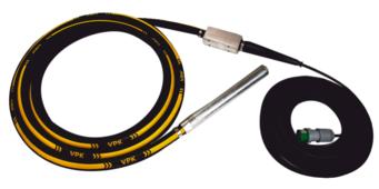 Электрический глубиный вибратор высокочастотный ВПК Механизация 50T