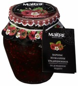 Варенье из малины Maitre Selection традиционное по домашнему рецепту 375 г