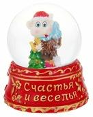 Снежный шар Сима-ленд Счастья и веселья Обезьняка с ёлочкой