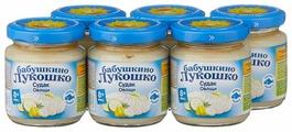 Пюре Бабушкино Лукошко Судак-овощи (с 8 месяцев) 100 г, 6 шт