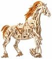 Сборная модель UGEARS Конь-Механоид