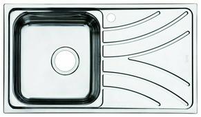 Врезная кухонная мойка IDDIS Arro ARR78SLi77 78х44см нержавеющая сталь