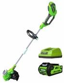 Триммер greenworks 21107va G-MAX 40V G40ST30K2