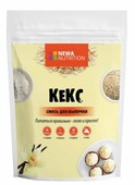 NEWA Nutrition смесь для выпечки Кекс, ванильный вкус, 0.2 кг