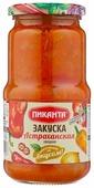 Закуска овощная Астраханская Пиканта стеклянная банка 530 г