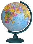 Глобус физико-политический Глобусный мир Двойная карта 250 мм (10547)