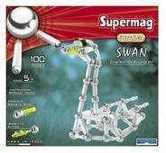 Магнитный конструктор PlastWood SuperMag Adventure 0311 Лебедь