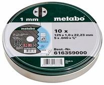 Диск отрезной 125x1x22.23 Metabo 616359000