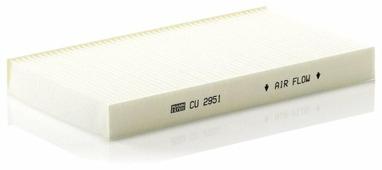 Салонный фильтр Mann-Filter CU2951/1