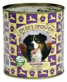 Корм для собак Ем Без Проблем Зооменю для собак Ассорти из птицы