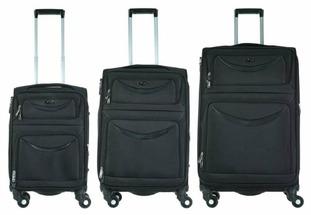 Комплект чемоданов Alezar Falcon S + M + L