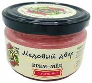 Крем-мед Медовый двор с малиной