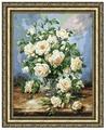 Золотое Руно Набор для вышивания Букет белых роз 43,5 х 33,8 см (ЛЦ-043)