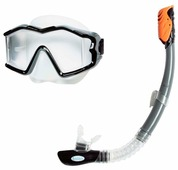 Набор для плавания Intex Silicone aqua pro