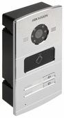 Вызывная (звонковая) панель на дверь Hikvision DS-KV8202-IM серебро
