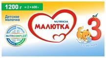 Смесь Малютка (Nutricia) 3 (с 12 месяцев) 1200 г