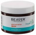 BEAVER Argan Oil Увлажняющая и восстанавливающая маска для волос на основе арганового масла
