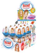Шоколадное яйцо Mega Secret Модные подружки с игрушкой, молочный шоколад, кробка