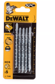 Набор пилок для лобзика DeWALT DT 2213 5 шт.