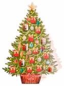 Адвент-календарь без наполнения Феникс Present Елка сюрприз 49,5 см