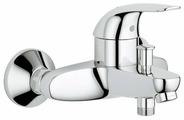 Однорычажный смеситель для ванны с душем Grohe Euroeco 32743000