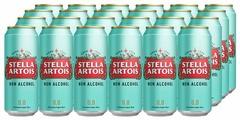 Stella Artois Пиво безалкогольное светлое Stella Аrtois, 0,45 л (24 шт)